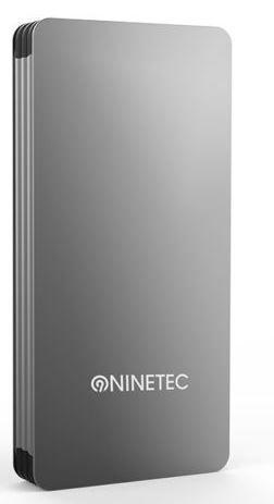 NINETEC NT615   Power Bank mit 15.000mAh Zusatz Akku für 19,99€