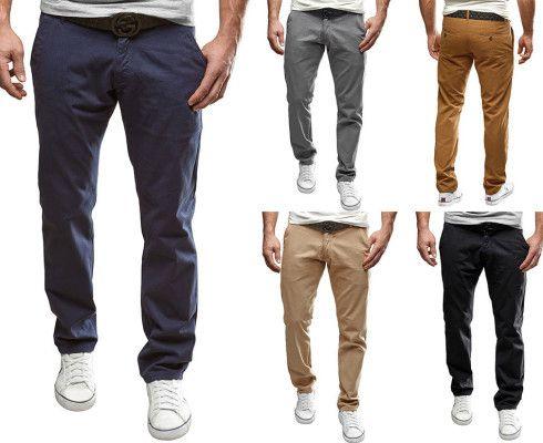MERISH Chino Regular Fit Hosen in 6 Farben für je 14,90€