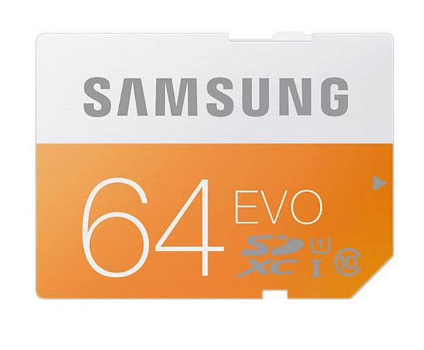 SAMSUNG SDXC 64 GB Speicherkarte Class 10 für 15€ (statt 23€)