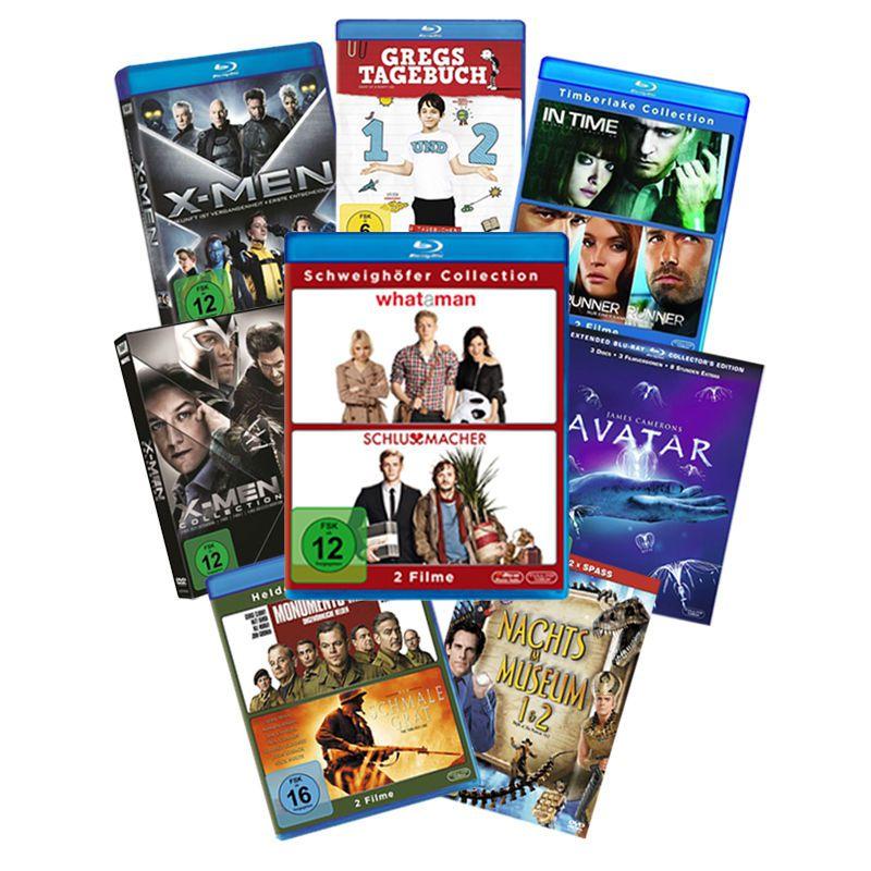 10 versch. Fox Blu ray & DVD Sets für je Set 9,99€ inkl. VSK