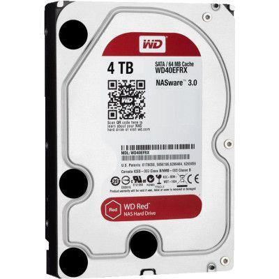 WD Red WD40EFRX 4TB 3,5 Zoll SATA III Festplatte für 105,94€ (statt 119€)