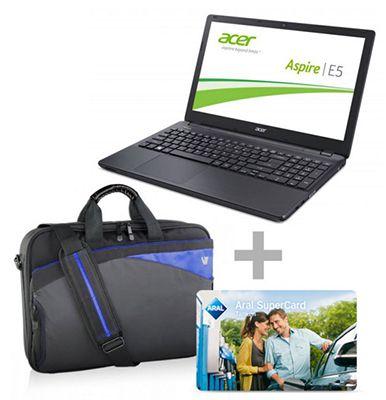 Acer Aspire Notebook + Tasche + 20€ Aral Gutschein für 399€ (statt 477€)