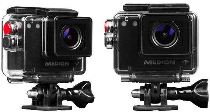 MEDION LIFE S47124 MD 87156   5MP Full HD WLAN Action Camcorder für 66,66€