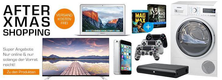 Apple MacBook Air für 1099€ bei den Saturn After XMAS Angeboten