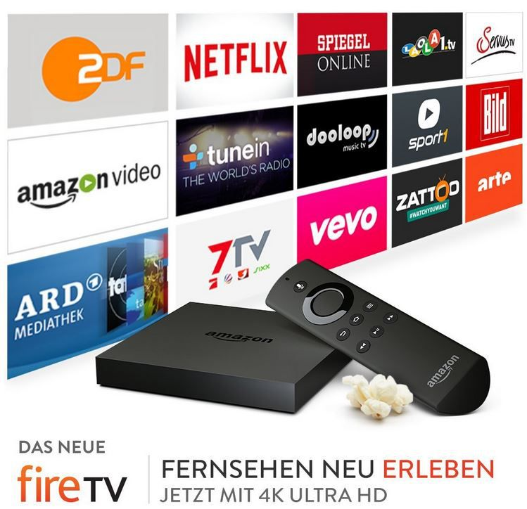 Amazon Fire TV mit 4K Ultra HD ab 84,99€ (statt 99€)
