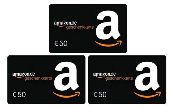Amazon Geschenkgutschein 4. Advent Gewinner! Eure Chance auf einen von drei 50€ Amazon Gutscheinen   Gratis!