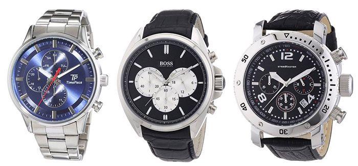 Amazon Uhren Sale Amazon Uhren Sale mit Top Preisen   z.B. s.Oliver Armbanduhr für 50€ (statt 95€)