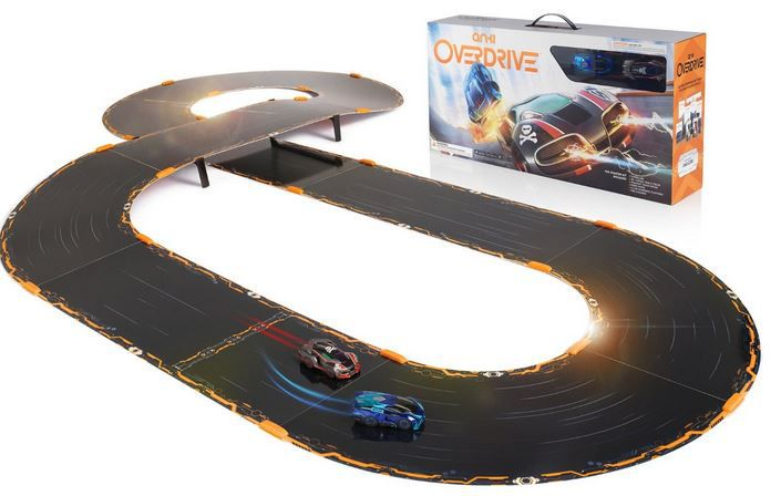 Anki OVERDRIVE Starter Kit   App gesteuerte Autorennbahn + ANKI OVERDRIVE Supertruck X 52 für 99,99€ (statt 114€)