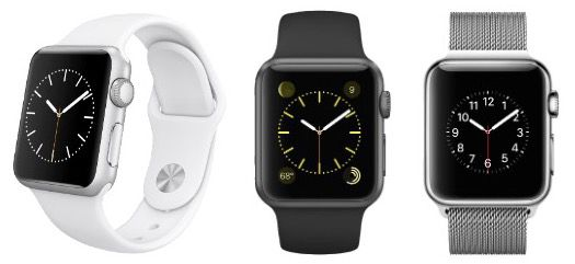 Apple Watches (38mm & 42mm) stark reduziert bei Saturn   ab 324€