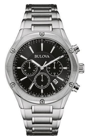 BULOVA Bulova 96B247   Herren Chronograph Quarz Edelstahl für 86,99€
