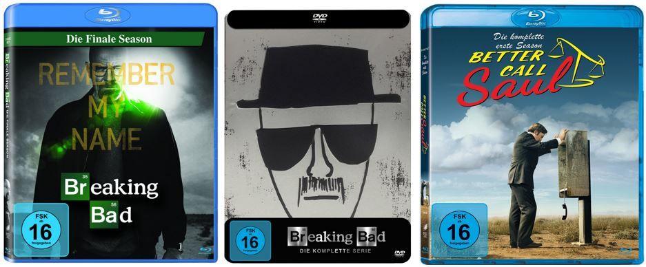 Breaking Bad   Tin Box für 49,97€ und mehr Breaking Bad und Better Call Saul Angebote