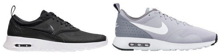 Nike Herren & Damen Sneaker Air Max Tavas lightgrey nur 79€