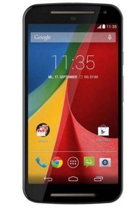 Motorola Moto G (2. Generation) für 119€ (statt 140€)