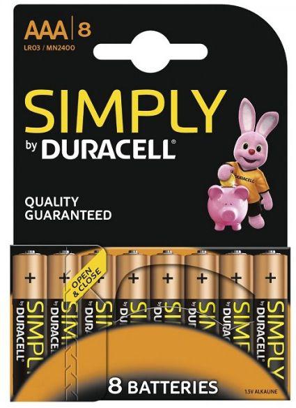 40 Duracell Micro AAA Batterien für 14,99€ inkl. Versand