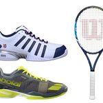 15% Rabatt auf bereits reduzierte Tennisschläger & Zubehör bei engelhorn