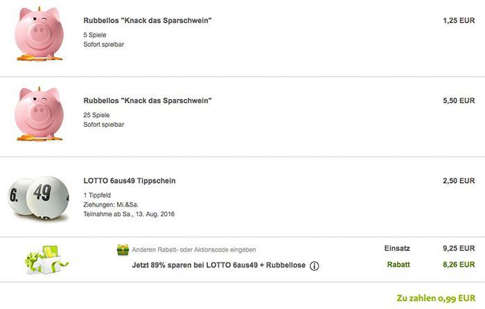 Bildschirmfoto 2016 08 12 um 15.18.10 Lottoland: 30 Rubbellose + 1 Lotto Tipp für 0,99€   nur Neukunden!