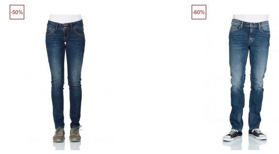 Jeans Direct Sale mit bis zu 50% Rabatt + 25% Extra Rabatt dank Gutschein