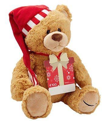 Gratis Teddybär beim Kauf eines 100€ Amazon Gutscheins