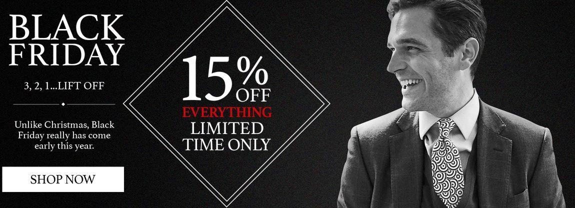 Black Fri Charles Tyrwhitt + 15% Rabatt auf alles   günstige Hemden und Schuhe!