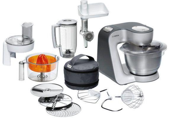 Bosch MUM56340 Küchenmaschine mit viel Zubehör für 199,99€ (statt 236€)
