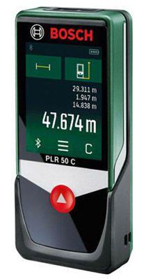 Bosch PLR 50 C Laser Entfernungsmesser für 89,99€ (statt 100€)