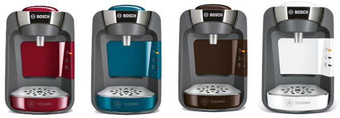 Bosch TASSIMO SUNY (T32) Heißgetränkemaschine + 40€ Kapsel Gutschein für 39,99€