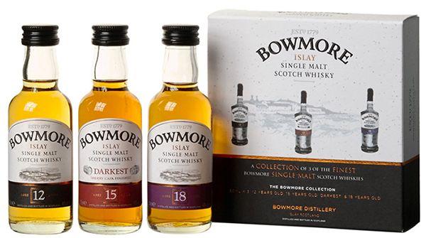 Bowmore Whisky Miniaturen Set Günstige Whisky Tasting Sets bei Amazon