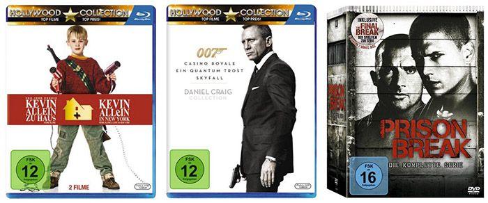 DVD & Blu ray Box Sets und Komplettboxen reduziert bei Amazon