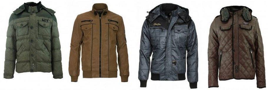 CIPO BAXX Winterjacken CIPO & BAXX   Herren Übergangs Jacken für je 24,99€ (statt 40€)