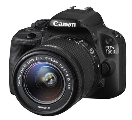 Canon EOS 100 D Canon EOS 100 D Kamera inkl. EF S 18 55mm IS STM für 349€ (statt 399€)