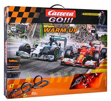 Carrera Go!!! Warm up Rennbahn ab 35,99€ (statt 59€)