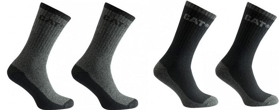 Cat Socken CATERPILLAR Thermo Arbeitssocken   4 Paar für nur 4,99€