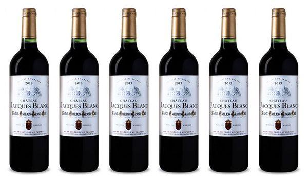 Chateau Jacques Blanc Grand Cru 6 Flaschen Chateau Jacques Blanc Grand Cru für 38,73€