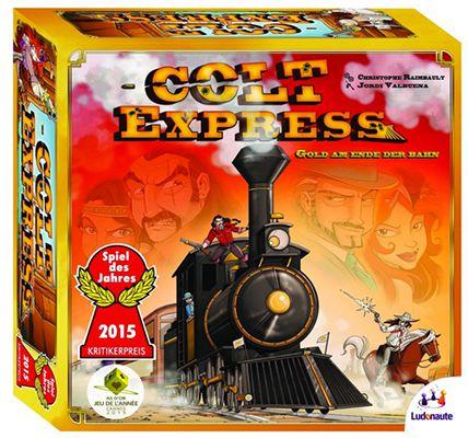 Colt Express ab 9,14€ (statt 14€)   Spiel des Jahres 2015