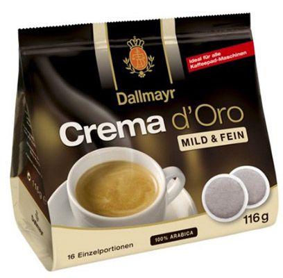 400 Crema doro mild und fein Pads ab 21,45€ (statt 50€)