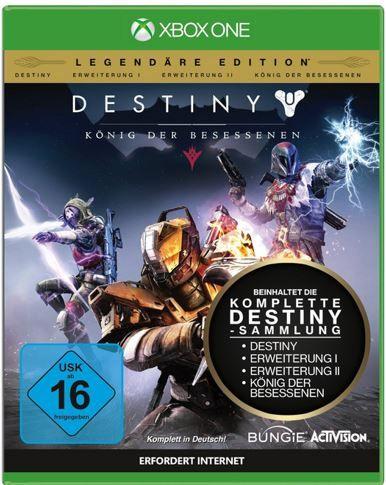 Destiny   König der Besessenen (Legendäre Edition) (XBox One) für 31,99€