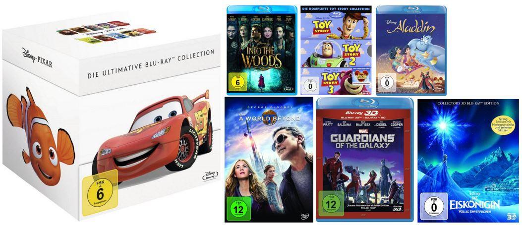 Disney Pixar Collection [Blu ray] für nur 49,97€ bei den Disneyfilmen zum Aktionspreis heute
