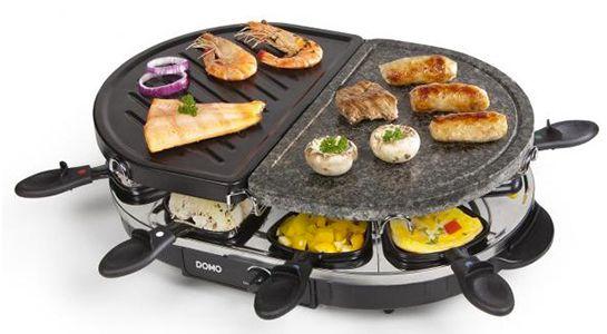 Domo DO 9059G Raclette Steingrill für 19,99€ (statt 36€)