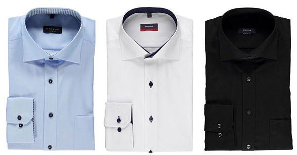 3er Set Eterna Hemden ab 80€ (statt 120€)   TIPP!