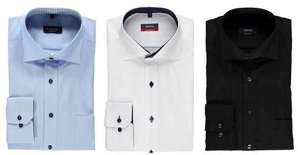 3er Set Eterna Hemden (Modern / Comfort / Slim Fit) für 100,94€ (statt 120€)