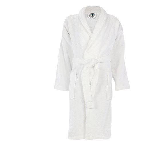 Fairtrade Bademantel für Damen und Herren   100% Baumwolle für nur 14,99€