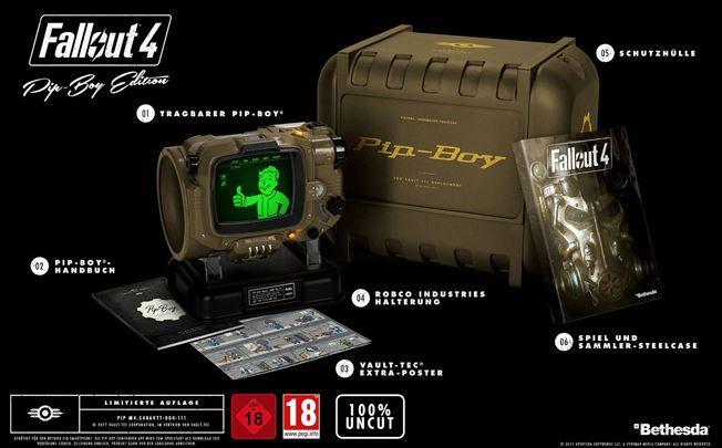 Fallout 4 Pip Boy Edition [Xbox One] für 106,79€   dank 20% Gutschein für Thalia.at