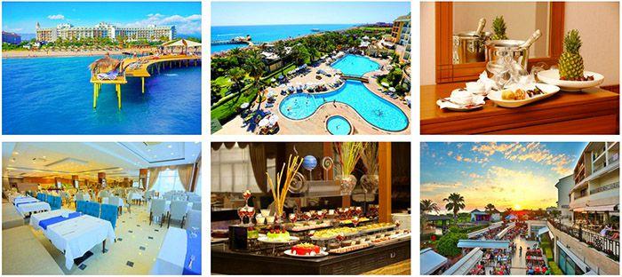 7 oder 14 Tage Türkische Reviera mit Flug im 5* Hotel All inc. ab 399€ p.P.
