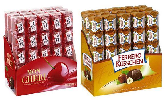 Ferrero Süßigkeiten mit bis zu 29% Rabatt bei Amazon