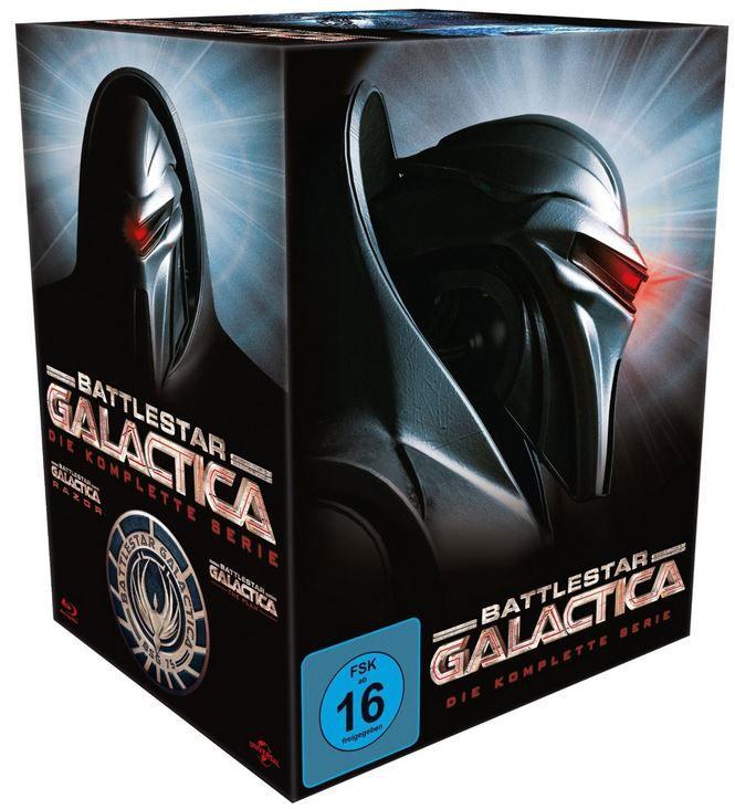 Battlestar Galactica   komplette Serie   Blu ray Box für nur 31,99€