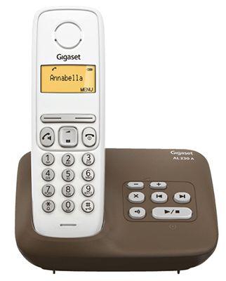Gigaset AL230A Gigaset AL230A Single Telefon mit AB für 22€ (statt 31€)