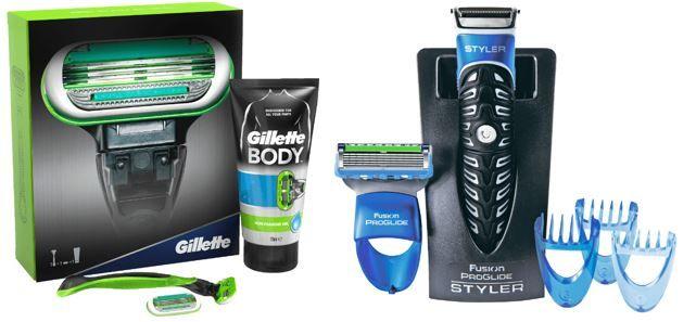 Gilette Body GILLETTE Fusion ProGlide 3 In 1 Styler statt 17€ für nur 9,99€