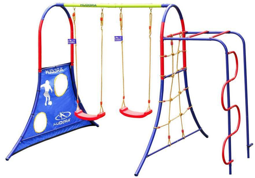 HUDORA 64019   Kletter Spielplatz mit vielen Funktionen für nur 136,69€