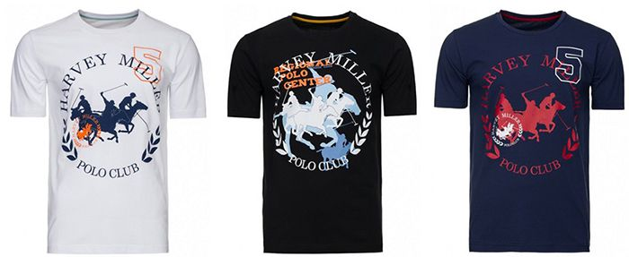Harvey Miller Polo Club Shirts Harvey Miller Polo Club Shirts für 3,99€ (statt 14€)