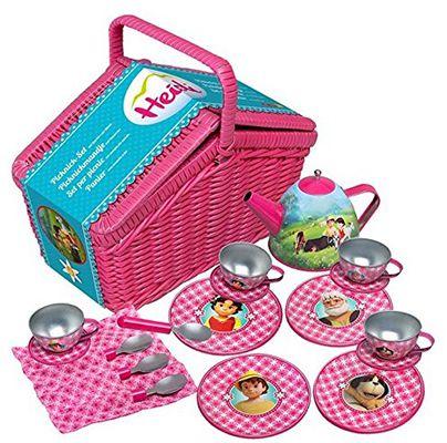Heidi Picknick Set Heidi Picknick Set mit Geschirr aus Metall ab 7,98€ (statt 17€)